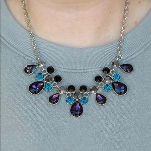 Paparazzi Debutante Drama Multi Color Necklace NWT